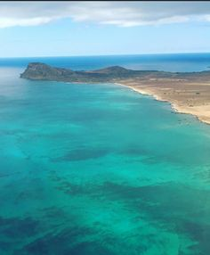 Nice view of Boa Vista from the sky, Cape Verde #Kaapverdie