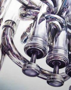 Pinturas americanas por Todd Ford, el arte hiperrealismo