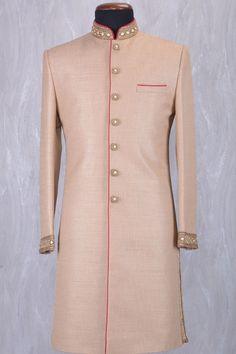To order this whatsapp us on Indian Wedding Suits Men, Sherwani For Men Wedding, Mens Sherwani, Indian Groom Wear, Wedding Dress For Boys, Marriage Dress For Men, Indian Men Fashion, Royal Fashion, Men's Fashion