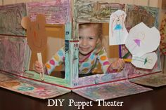 Keeping up with the Kiddos: DIY Puppet Theater