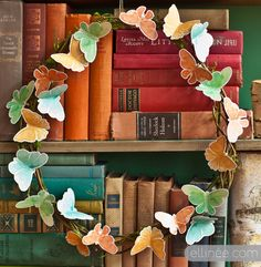 TWIG & BUTTERFLY WREATH