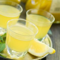 Limoncello Recipe - This Limoncello Recipe is extremely easy, although it does take a few months of preparation to serve this Italian drink. Limoncello, an Italian lemon liqueur that is served well-chilled in the summer months, is a digestive aid, a wonderful palate cleanser, or simply an after-dinner drink. Photo by Fotolia/Viktorija