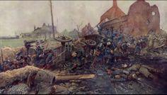Defending the Junction. Franco Prussian War.