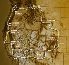 The National Park-to-Park Highway; been to most of these, but there were a couple missed that I would like to see.