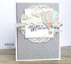 In The Cat Cave: hello silver embossing powder | Stampin' Up! Artisan Design Team Blog Hop