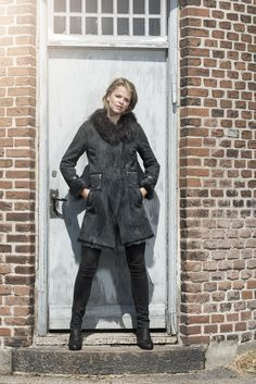 Alexandra Jacket in Dark Grey