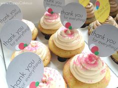 Free Cupcake Printables! Cute Toppers for any partay :)  @Em Feland