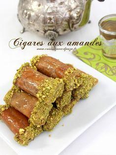 cigare aux amandes et miel | La cuisine de Djouza
