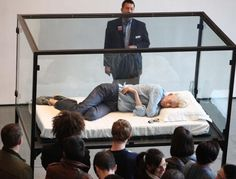 Tilda Swinton diventa un'opera d'arte al MOMA di New York.