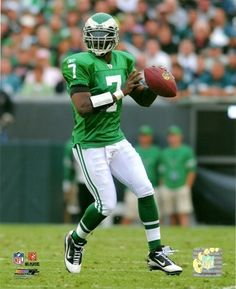 ddf0b2473bf This is Mike Vick the quarterback of the Eagles. He was incarcerated for two  years