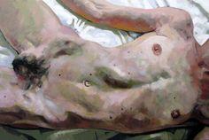 Skin 2, acrylic on canvas, 120 x 180 cm, 2009