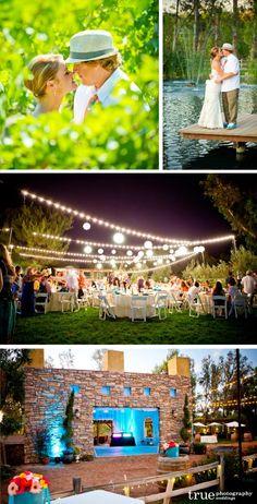 Lake Oak Meadows Temecula Wedding, orange & teal; True Photography
