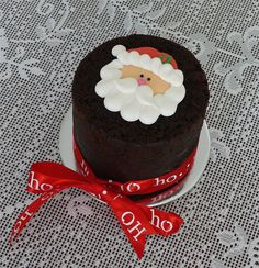 little Santa cake