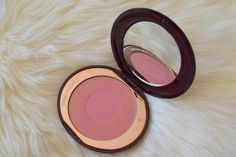 CHARLOTTE TILBURY CHEEK TO CHIC LOVE GLOW BLUSHER REVIEW AND SWATCHES | #beauty #makeup
