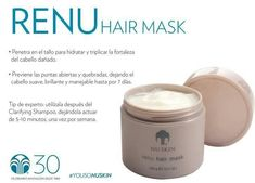 Nutre y cuida tu cabello 😍 Nu Skin, Galvanic Spa, Tips Belleza, Hair Oil, Face And Body, Hair Care, Hair Beauty, Skincare, Skin Products