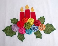 Applique Patterns, Applique Designs, Quilt Patterns, Xmas Crafts, Home Crafts, Diy And Crafts, Patch Quilt, Christmas Diy, Christmas Decorations
