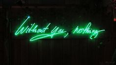 Neon Sculptures by Olivia Steele