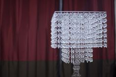 My diy chandelier centerpiece project wedding forums do it okay i wanted to photo 2699567 4 chandelier centerpiecediy aloadofball Images