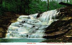 Arkwright Falls - Waterfalls of the Northeastern United States