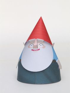 DIY Printable Paper Home-Gnomes (different colours) Diy Paper, Paper Art, Paper Crafts, Free Paper, Diy And Crafts, Crafts For Kids, Arts And Crafts, Noel Christmas, Christmas Crafts
