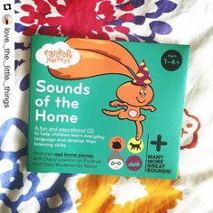 Repost: Preschooler in the house? I got this amazing cd from eardrops today and Sylvie is obsessed - currently on her third listen! It's a great alternative to screen time and just as captivating! Go get it! ...Thanks for sharing @love._the._little._things it's always great to hear from parents and children 🙏🏽 Head to www.eardrops.co.nz to grab a copy today. 30 sounds for your child to learn + many peaceful times for you! 😆Liz xx