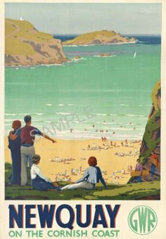 66 Ideas Vintage Travel Posters Europe British Rail For 2019 Posters Uk, Train Posters, Retro Poster, Railway Posters, Vintage Travel Posters, Illustrations And Posters, Vintage Ski, British Travel, British Seaside