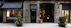 Very nice hotel in the center of the El Born district, the heart of Barcelona history (Spain).