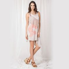 Angels Never Die Tunic Dress Frappe
