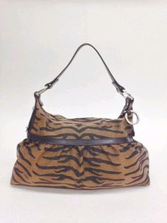 #fendi #tiger #animalprint #canvas #hobo #purse #bagoftheday #bagporn #fashion