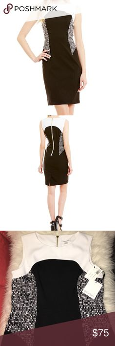 NWT Calvin Klein Color Block Dress Brand new in size 10 with tags attached. Calvin Klein Dresses