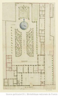[Paris, hôtel de Guise-Soubise : variante pour le premier projet] : [dessin] / [Jules Hardouin-Mansart] - 1