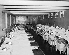 In certain hospitals like the Camarillo Mental Hospital here pictures, overcrowding led to patients being lined up to sleep sitting up. Alternately, some believed that sleep deprivation could help in the treatment of depression