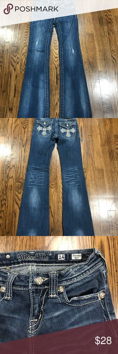 """Girls Miss Me Jeans Great condition 31"""" inseam Miss Me Bottoms Jeans"""