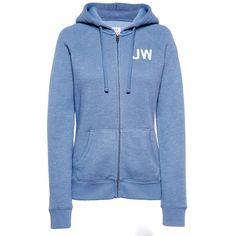 GLENDALE ZIP UP HOODIE ❤ liked on Polyvore featuring tops, hoodies, blue hoodies, hooded sweatshirt, jack wills hoodies, jack wills hoodie and jack wills