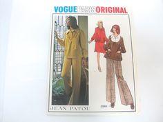 Vogue Paris Original Jean Patou Pattern 2846 Size 12