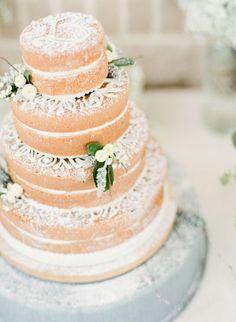 wedding cake ,Elegant Ballroom Wedding { Neutral & Gold Palette } Photography: Mint Photo - mymintphotography.com