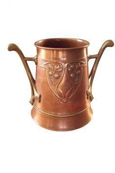 WMF Wine Cooler Copper Brass SOLD: Au Fil de l'Eau Antiques