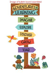 Nature Explorers Adventures in Learning (eBook) Soft Board Decoration, Class Decoration, School Decorations, School Themes, Classroom Door Decorations, Classroom Display Boards, Display Boards For School, Camping Bulletin Boards, Summer Bulletin Boards