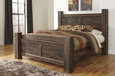 Quinden King Size Bed