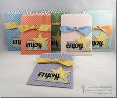 Perfect Party Favors using the Mini Treat Bag Die | Northwest Stamper