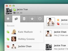 Skype Redesign + PSD by Jackie Tran