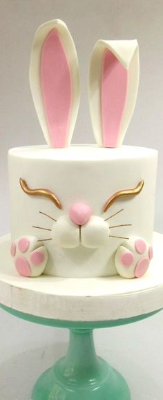 40 Best Bunny Birthday Cake Images Bunny Birthday Cake Cup Cakes