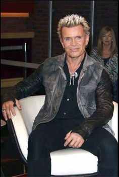 Billy Idol at Marcus Lanz 2015