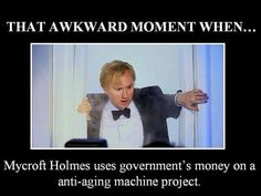 hahaha oh Mycroft...