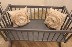 Vintage Jenny Lind cradle bassinet by WoodRemains on Etsy, $300.00