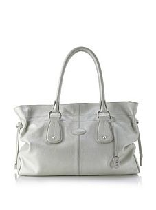 Tod's Women's Restyling D Tote, Silver
