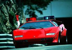 wasabibuyu:  eighties—cars:  Lamborghini Countach1980 Monte Carlo Grand Prix pace car