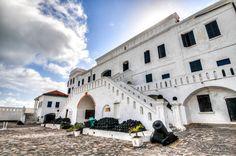 Cape Coast Castle is a Fortification in Ghana