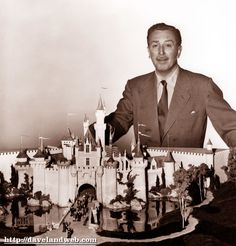Walt at the Castle