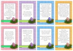 Easter Basket Scavenger Hunt